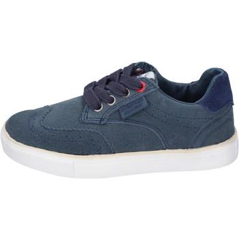 Buty Chłopiec Trampki Beverly Hills Polo Club sneakers camoscio Blu