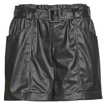 tekstylia Damskie Szorty i Bermudy Liu Jo WF0104-E0392 Czarny