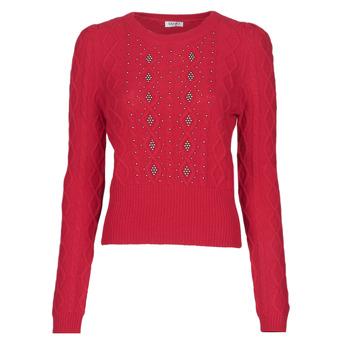 tekstylia Damskie Swetry Liu Jo MF0156-MA88J Czerwony