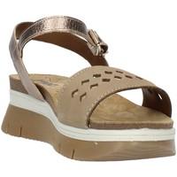 Buty Damskie Sandały Imac 509190 Beżowy