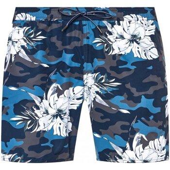tekstylia Męskie Kostiumy / Szorty kąpielowe Armani 211740 0P441 Niebieski