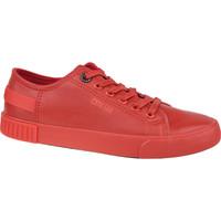 Buty Damskie Trampki niskie Big Star Shoes Big Top Czerwony