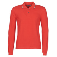 tekstylia Męskie Koszulki polo z długim rękawem Casual Attitude NILE Czerwony