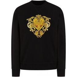 tekstylia Męskie Bluzy Versace B7GVB7EB Czarny