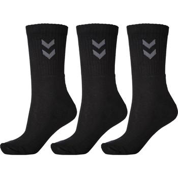 Dodatki Skarpety Hummel Lot de 3 paires de chaussettes  Basic noir