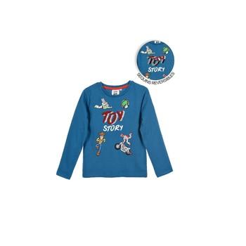 tekstylia Chłopiec T-shirty z długim rękawem TEAM HEROES  TOY STORY Niebieski
