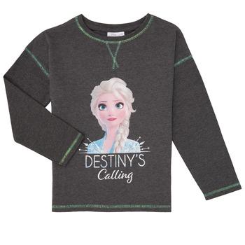tekstylia Dziewczynka T-shirty z długim rękawem TEAM HEROES FROZEN Szary