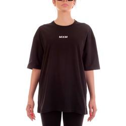 tekstylia T-shirty z krótkim rękawem Mxm Fashion 502452 Czarny