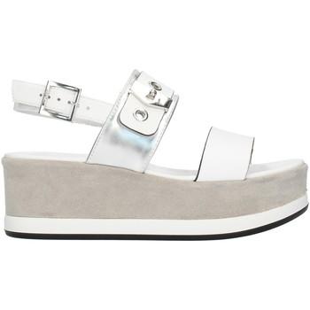 Buty Damskie Sandały Nero Giardini E012470D Biały