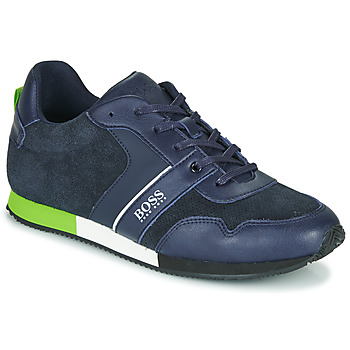 Buty Chłopiec Trampki niskie BOSS J29225 Niebieski