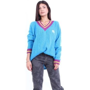 tekstylia Męskie Spodnie z pięcioma kieszeniami Barba Napoli JELTON5113 Avion
