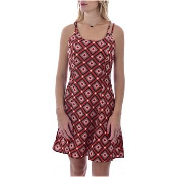 tekstylia Damskie Sukienki krótkie Molly Bracken R1422AE20 Pomarańczowy