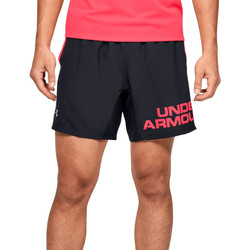 tekstylia Męskie Szorty i Bermudy Under Armour Speed Stride Graphic 7 Shorts 1350169-001 Czarne