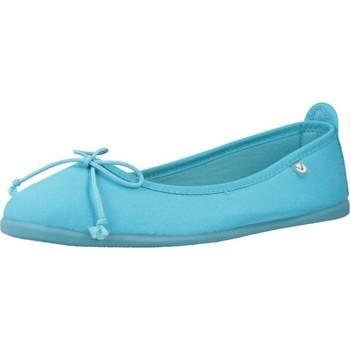 Buty Dziewczynka Derby & Richelieu Victoria 104802 Niebieski