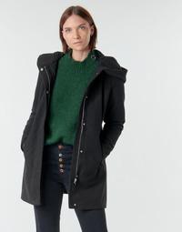 tekstylia Damskie Płaszcze Vero Moda VMDAFNEDORA Czarny