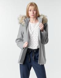 tekstylia Damskie Płaszcze Vero Moda VMCOLLARYORK Szary