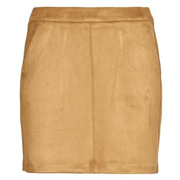 tekstylia Damskie Spódnice Vero Moda VMDONNADINA Cognac