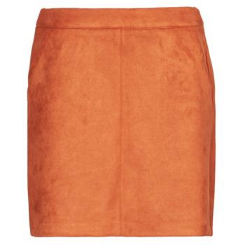 tekstylia Damskie Spódnice Vero Moda VMDONNADINA Pomarańczowy
