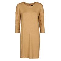 tekstylia Damskie Sukienki krótkie Vero Moda VMGLORY Camel