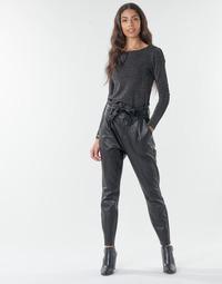 tekstylia Damskie Chinos Vero Moda VMEVA Czarny