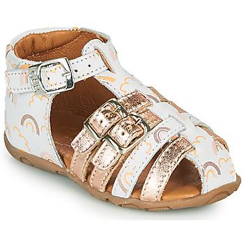 Buty Dziewczynka Sandały GBB RIVIERA Biały