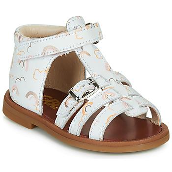 Buty Dziewczynka Sandały GBB PHILIPPINE Biały