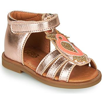 Buty Dziewczynka Sandały GBB FRANIA Różowy / Gold