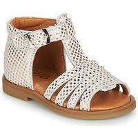 Buty Dziewczynka Sandały GBB ATECA Biały / Różowy / Gold