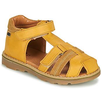 Buty Chłopiec Sandały GBB MITRI Żółty