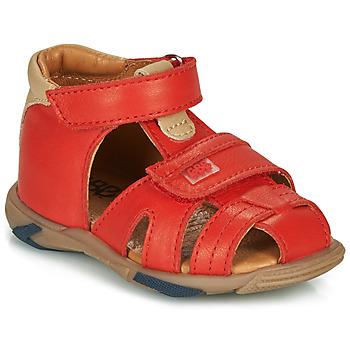 Buty Chłopiec Sandały GBB NUVIO Czerwony