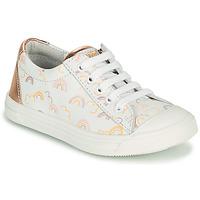 Buty Dziewczynka Trampki niskie GBB MATIA Biały / Różowy