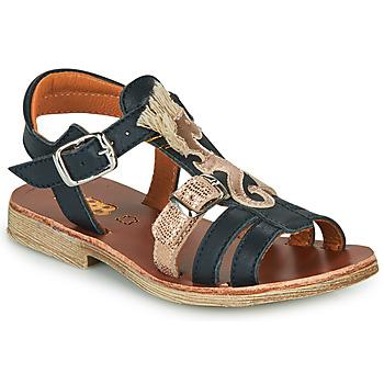 Buty Dziewczynka Sandały GBB PALOMA Marine