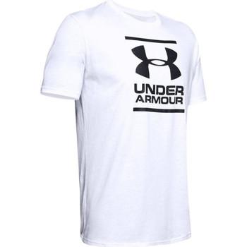 tekstylia Męskie T-shirty z krótkim rękawem Under Armour GL Foundation SS Tee Biały