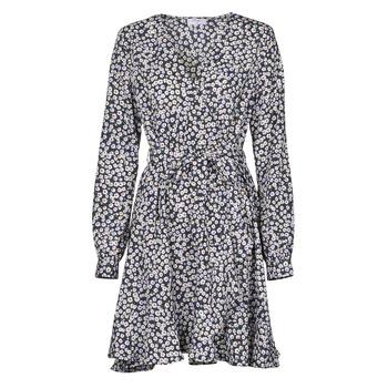 tekstylia Damskie Sukienki krótkie Betty London NAZUR Marine / Biały
