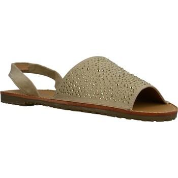 Buty Damskie Sandały Sprox 282289 Beżowy