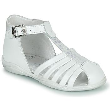 Buty Dziewczynka Sandały Little Mary VOLGA Biały