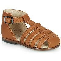 Buty Dziewczynka Sandały Little Mary JULES Brązowy