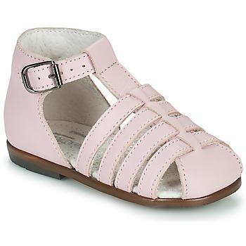 Buty Dziewczynka Sandały Little Mary JULES Różowy