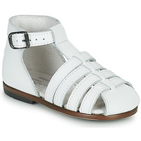 Buty Dziewczynka Sandały Little Mary JULES Biały
