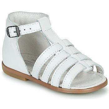 Buty Dziewczynka Sandały Little Mary HOSMOSE Biały