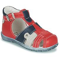 Buty Chłopiec Sandały Little Mary VERCORS Czerwony