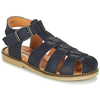 Buty Chłopiec Sandały Little Mary BREHAT Niebieski