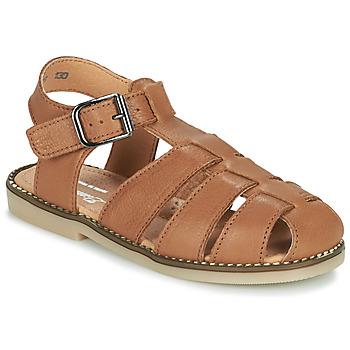 Buty Chłopiec Sandały Little Mary BREHAT Brązowy