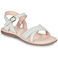 Buty Dziewczynka Sandały Little Mary LIANE Biały