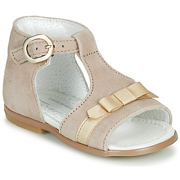 Buty Dziewczynka Sandały Little Mary GAELLE Beżowy