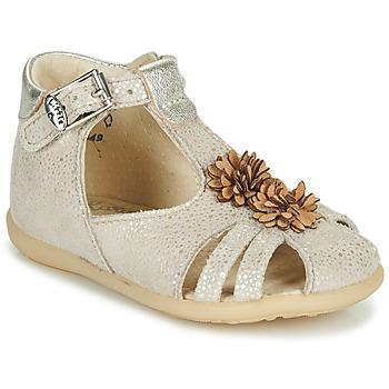 Buty Dziewczynka Sandały Little Mary GLADYS Beżowy