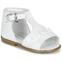 Buty Dziewczynka Sandały Little Mary GAELLE Biały