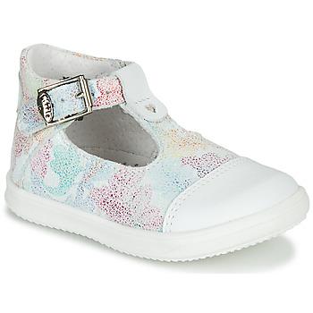 Buty Dziewczynka Sandały Little Mary VALSEUSE Biały / Wielokolorowy