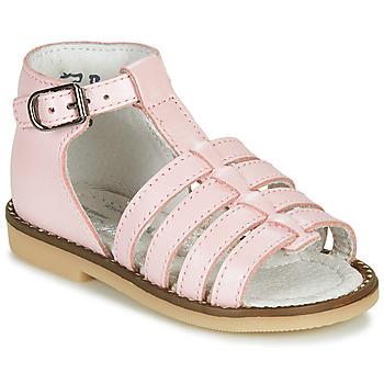 Buty Dziewczynka Sandały Little Mary HOLIDAY Różowy