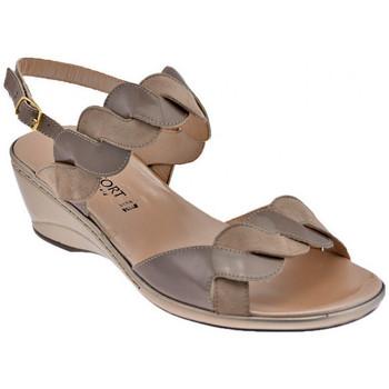 Buty Damskie Sandały Confort  Beżowy